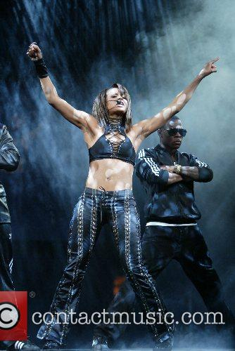 Ciara performs during Screamfest 2007 held at the...