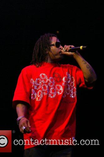 T-Pain performs during Screamfest 2007 held at the...