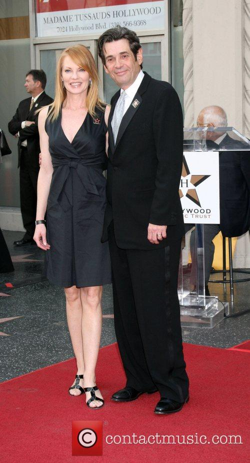 Marg Helgenberger and Alan Rosenberg