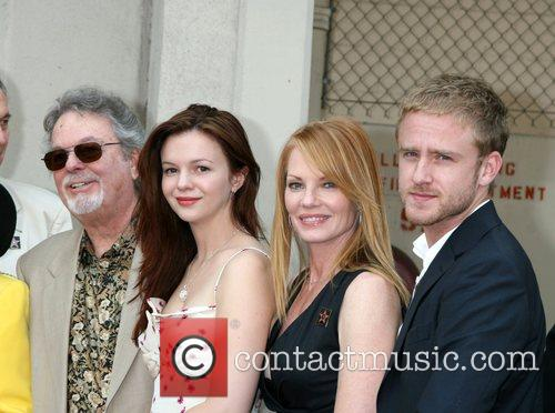 Russ Tamblyn, Amber Tamblyn, Marg Helgenberger and Ben...