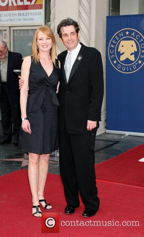 Marg Helgenberger and Alan Rosenberg 'Screen Actors Guild...