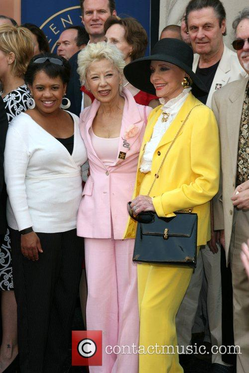 Chandra Wilson, France Nuyen and Anne Jeffreys