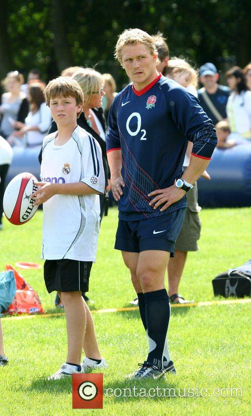 Josh Lewsey O2 Scrum In The Park with...