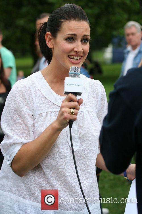 Kirsty Gallagher O2 Scrum In The Park with...