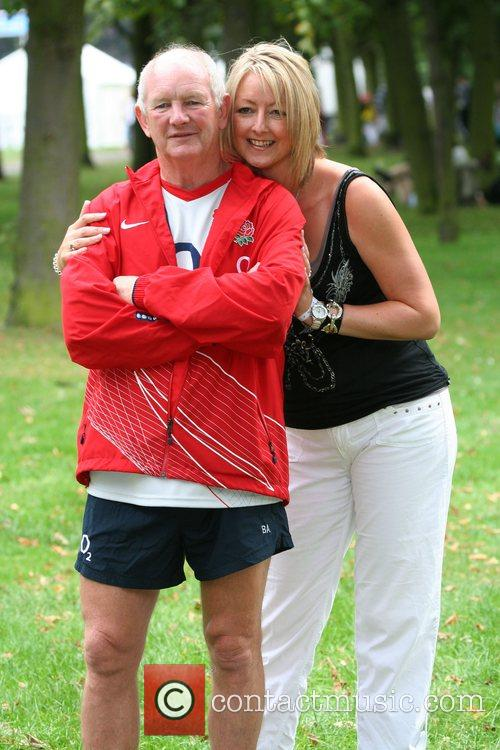 Brian Ashton and wife O2 Scrum In The...