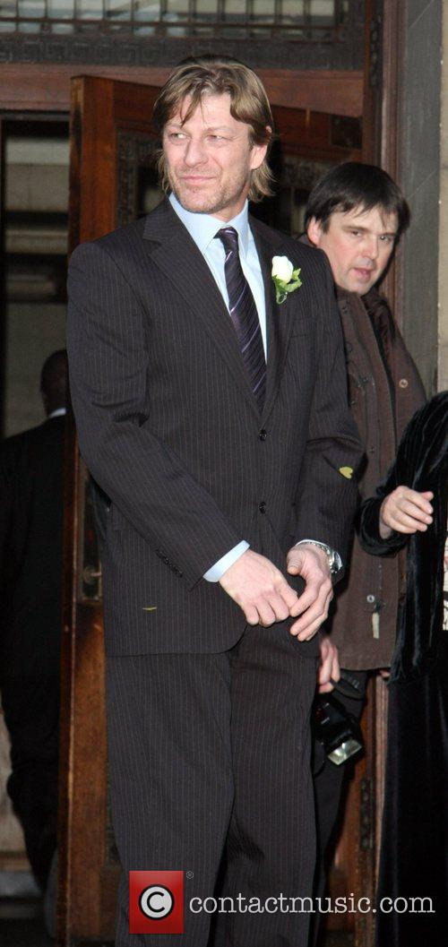 Sean Bean Married Georgina Sutcliffe today at Westminster...
