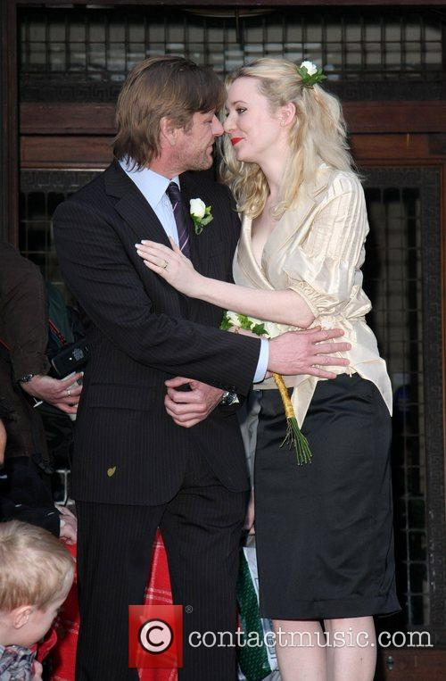 Sean Bean and Georgina Sutcliffe Married today at...