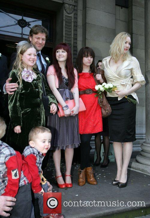 Married today at Westminster Register Office, Marylebone Road.