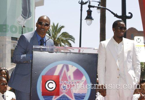Jamie Foxx and P Diddy 5