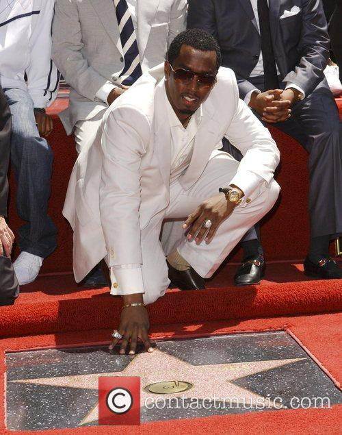 Sean Combs aka P Diddy is honoured with...