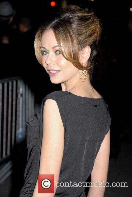 Alexis Dziena Mercedes-Benz Fashion Week Fall 2008 -...