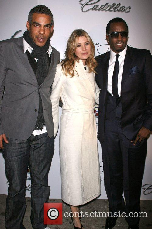 Chris Ivery, Ellen Pompeo and Sean Diddy Combs...