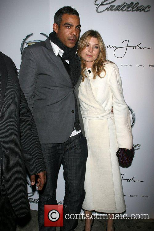 Chris Ivery and Ellen Pompeo Mercedes-Benz Fashion Week...
