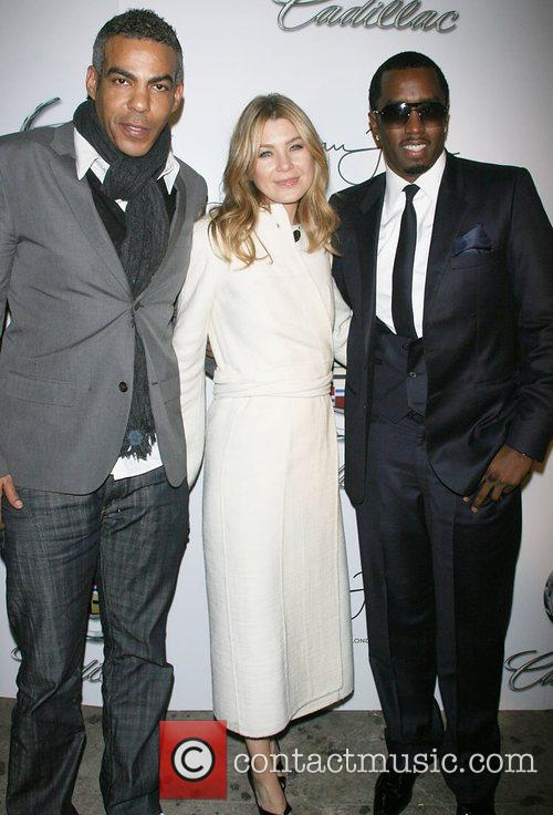 Christopher Ivery and Ellen Pompeo 1