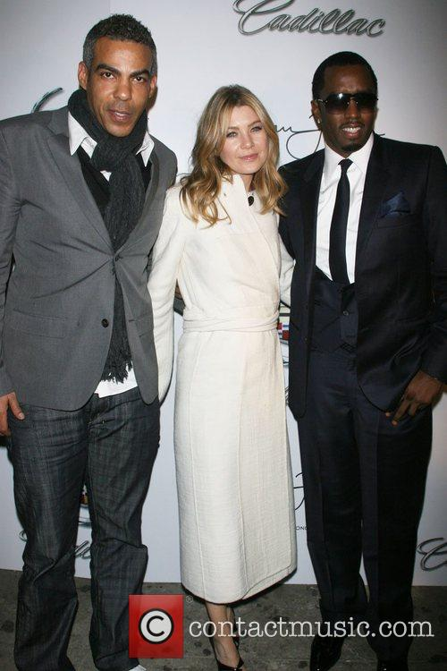 Christopher Ivery, Ellen Pompeo and Sean 'P. Diddy'...