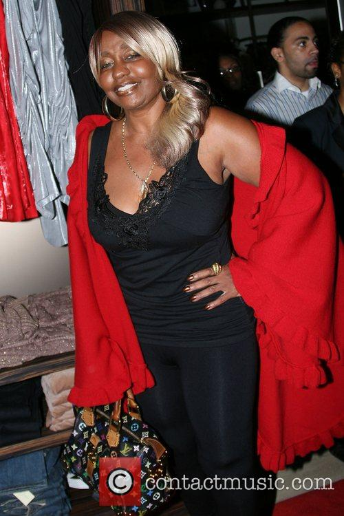 Janice Combs Sean John Women's launch party at...