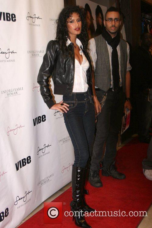 Jaslene Gonzalez Sean John Women's launch party at...