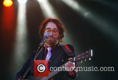 Sean Lennon son of assassinated ex-Beatle John Lennon...