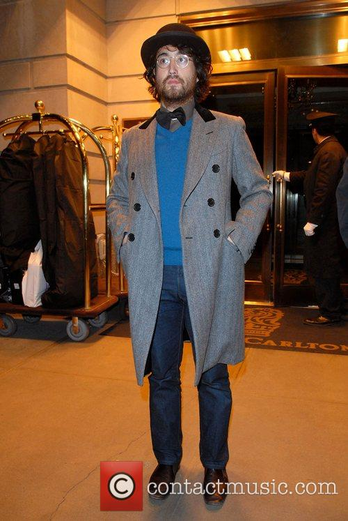 Sean Lennon out and about in Midtown Manhattan...