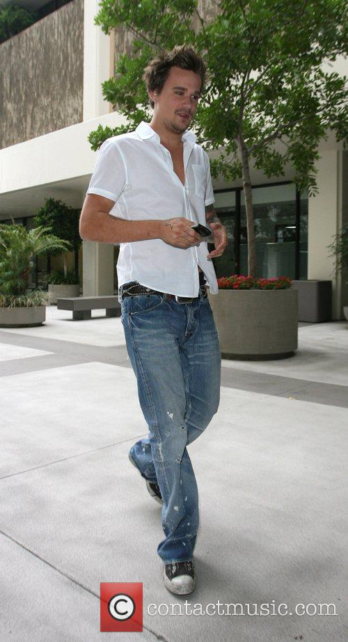 Sean Stewart  out for lunch with his...