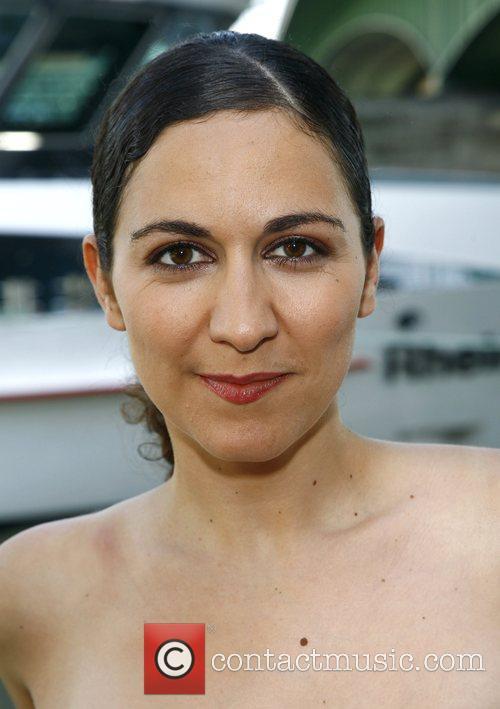 Shirin Soraya at a photocall for german comedy...