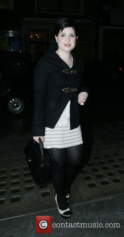 Kelly Osbourne at Selfridges who has been upset...