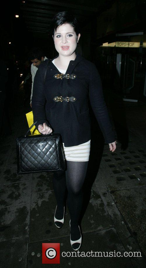 Kelly Osbourne at Selfridges who has been upset...