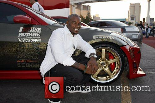 Tyson Beckford SEMA Convention at the Las Vegas...