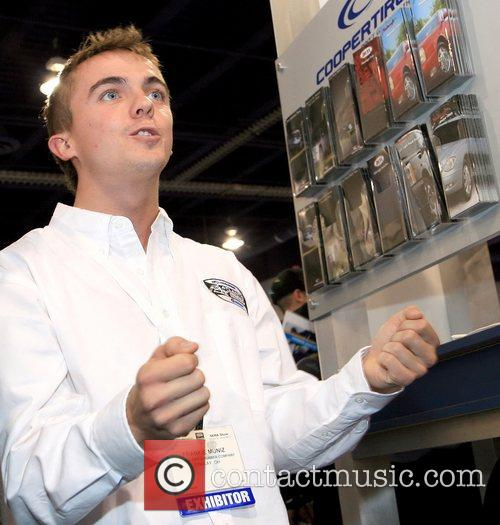 Frankie Muniz is announced as Copper Tire's newest.