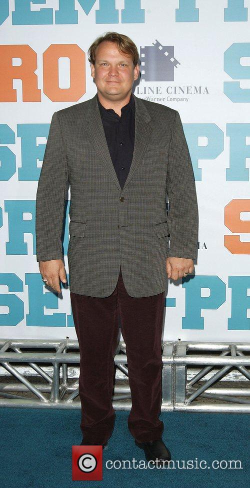 Andy Richter 'Semi-Pro' Premiere - Arrivals Los Angeles,...