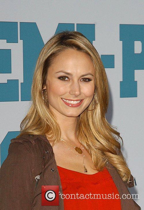 Stacy Keibler 'Semi-Pro' Premiere - Arrivals Los Angeles,...