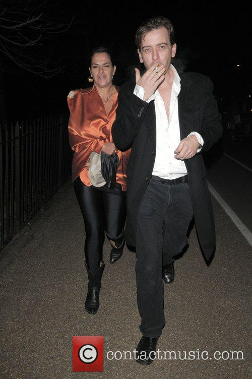 Tracey Emin Vivienne Westwood Opus - launch party...