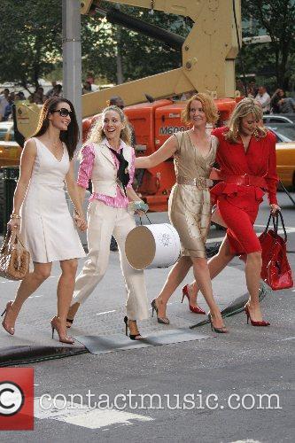 Kristin Davis, Sarah Jessica Parker, Cynthia Nixon and...