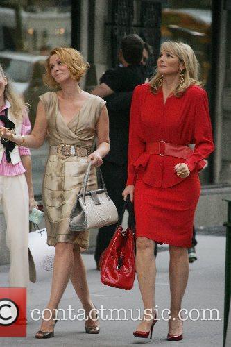 Sarah Jessica Parker, Cynthia Nixon and Kim Cattrall...