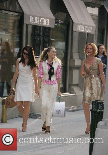 Kristin Davis, Sarah Jessica Parker and Cynthia Nixon...