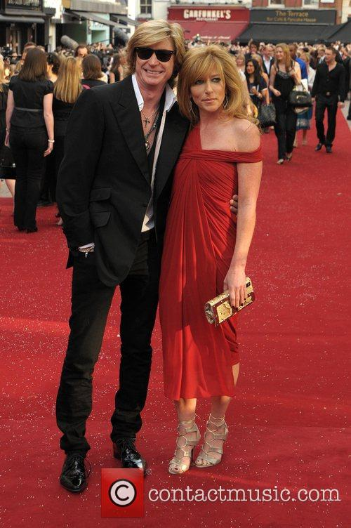 Nicky Clark and Kelly Hoppen UK film premiere...