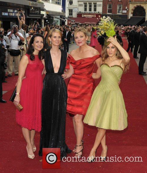 Sarah Jessica Parker, Kim Cattrall, Kristin Davis and Sex And The City 2