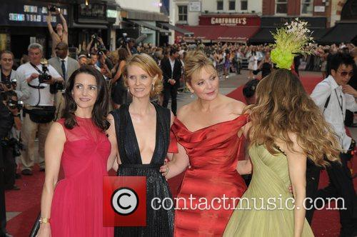 Sarah Jessica Parker, Kim Cattrall, Kristin Davis and Sex And The City 1