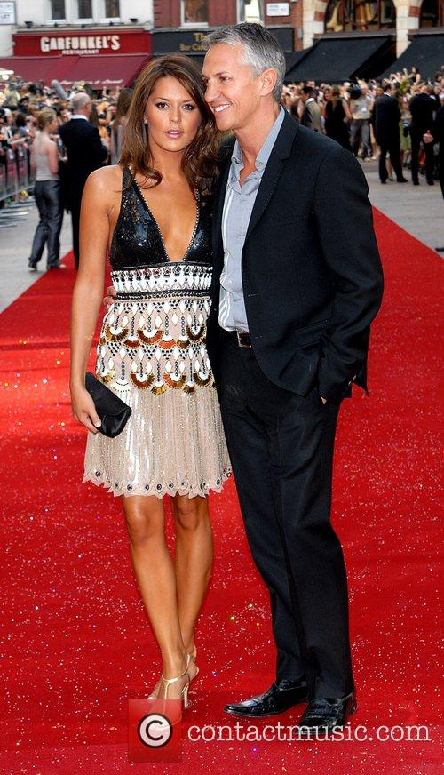 Danielle Bux and Gary Lineker, UK film premiere...