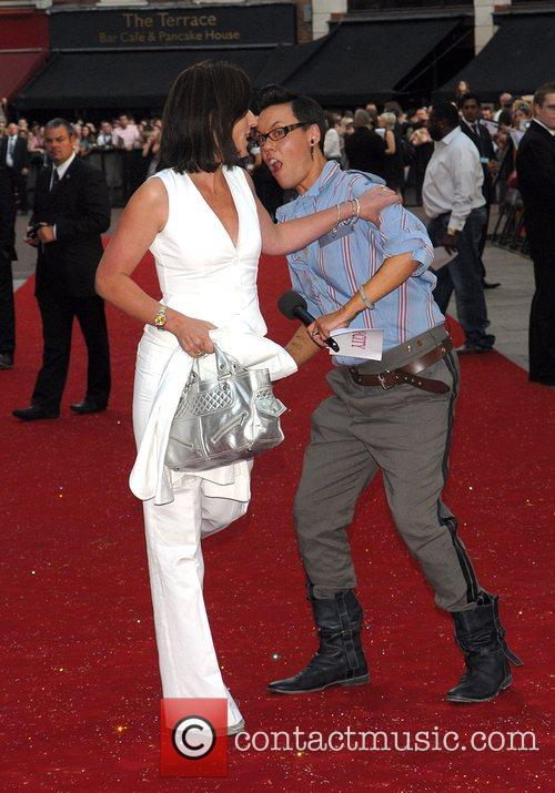 Davina McCall and Gok Wan, UK film premiere...