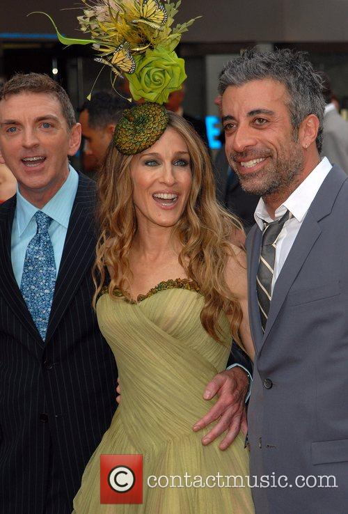 Michael Patrick King, Sarah Jessica Parker and Producer...