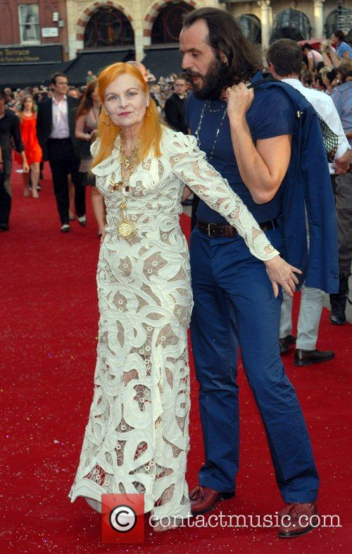 Vivienne Westwood and Andreas Kronthaler, UK film premiere...