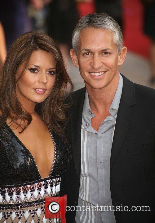 Danielle Bux and Gary Lineker, (UK film premiere...