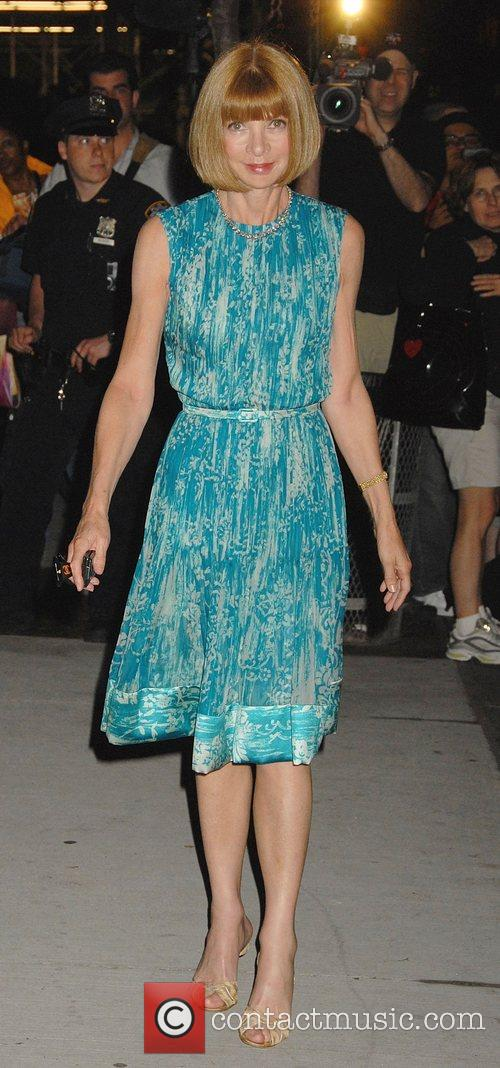 Anna Wintour The 'Sex and the City' premiere...
