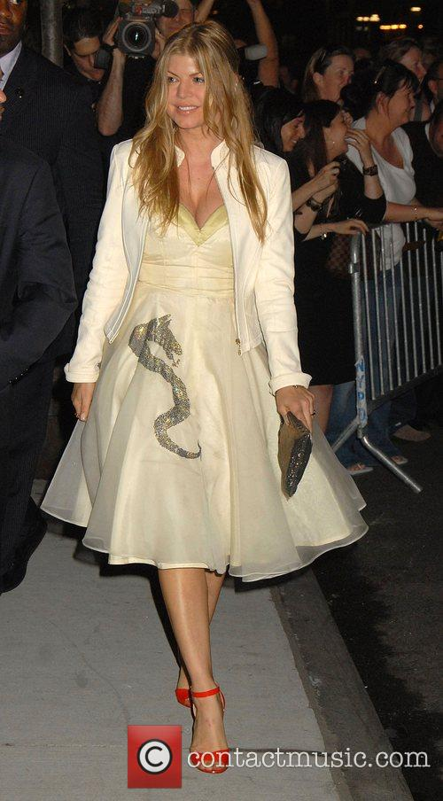 Fergie The 'Sex and the City' premiere after...