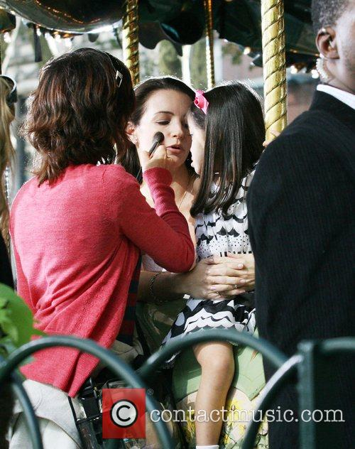 Kristen Davis with her on screen adopted daughter...