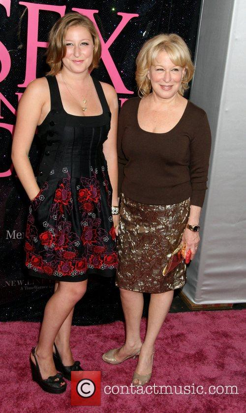 Bette Midler and daughter Sophie Von Haselberg US...