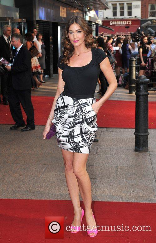 Lisa Snowdon, Sex And The City, Odeon Leicester Square