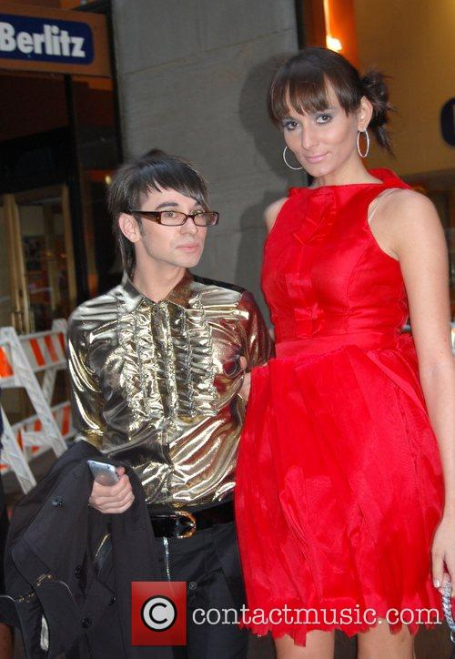 Christian Siriano and guest US premiere of 'Sex...