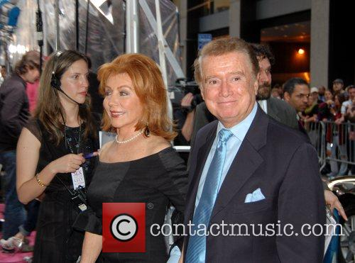 Joy Philbin and Regis Philbin US premiere of...